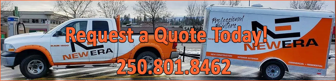 Request A Quote from New Era Professional Painters for all your Okanagan Valley painting projects.
